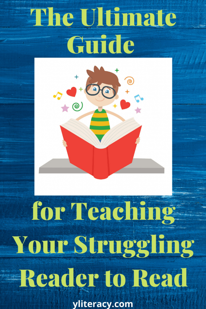 The ultimate guide for teaching your struggling reader to read; Does my child have dyslexia? Why is my child struggling with reading? How can I help my child with reading? The answers to these questions and more are inside! reading support struggling readers; reading support for parents; reading help for kids struggling readers; reading help struggling readers; reading problems and solution; #readingsupport