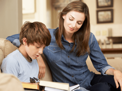 mother son reading; best reading comprehension strategies; how to help child with reading