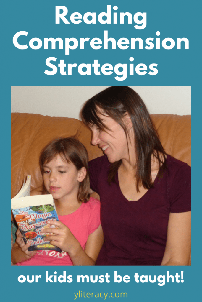 reading comprehension strategies our kids must be taught; reading help for kids struggling readers; how to teach reading comprehension; reading comprehension help for parents; tips for parents to help with reading; how to help child with reading comprehension #readingsupport #strugglingreaders