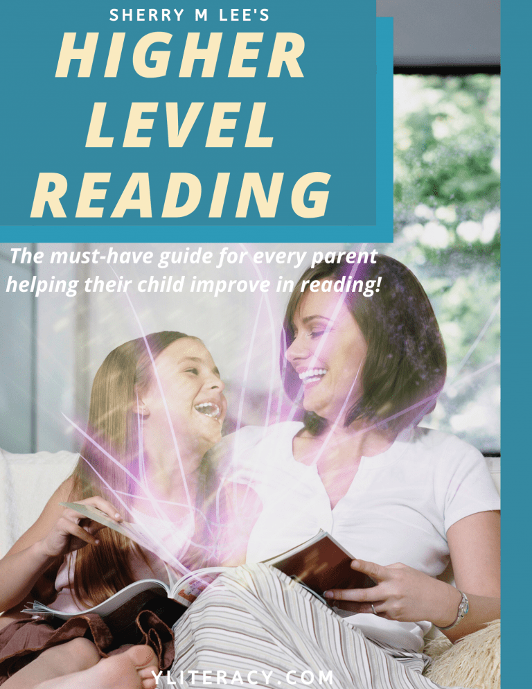 higher level reading cover for front page